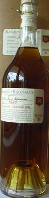 Cognac from year 1997 Raymond Ragnaud Grande Champagne 1. cru 70cl 40%